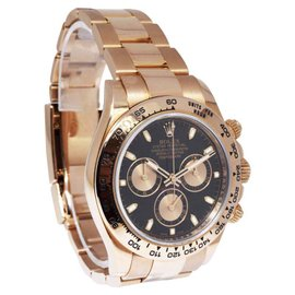 Rolex Daytona 116505 18K Rose Gold Black/Pink Dial Automatic 40mm Mens Watch