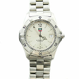 Tag Heuer WK1112-0 Stainless Steel Quartz 37mm Mens Watch