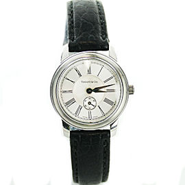 Tiffany & Co. 990225745 Stainless Steel / Leather Quartz 28mm Womens Watch