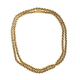 Bulgari Bvlgari 18K Yellow Gold Chain Necklace