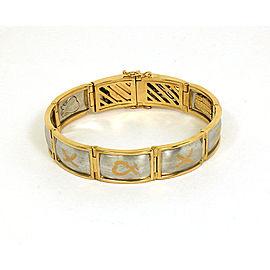 Tiffany & Co. Paloma Picasso Platinum & 18K Yellow Gold Bracelet