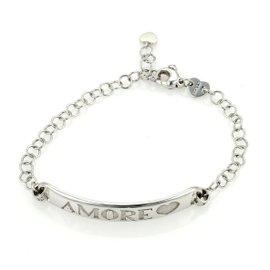 Pasquale Bruni Amore 18K White Gold Chain Link Bracelet