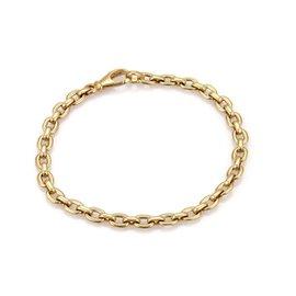 Cartier 18K Yellow Gold Oval Link Bracelet