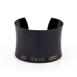 Tiffany & Co. 1837 Titanium Concave Cuff Bracelet