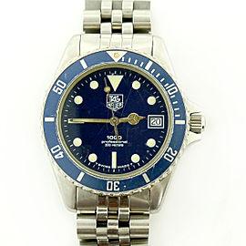 Tag Heuer Prof 1000 980.613N/1 37mm Mens Watch