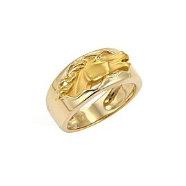 Carrera Y Carrera 18K Yellow Gold Diamond Ring Size 7.75