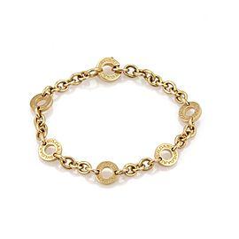 Bvlgari 18K Yellow Gold Bracelet