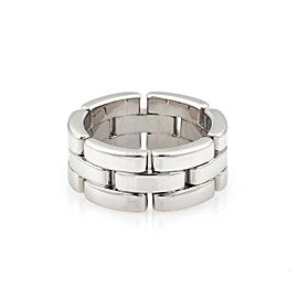 Cartier Panthere 18K White Gold Ring Size 5