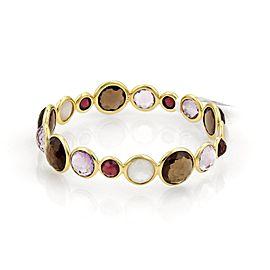 Ippolita Rock 18K Yellow Gold Amethyst, Mother Of Pearl Bracelet