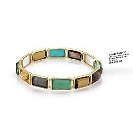 Ippolita Rock 18K Yellow Gold Smoky Quartz, Mother Of Pearl Bracelet