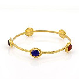Gurhan Afgan 24K Yellow Gold Turquoise Bracelet