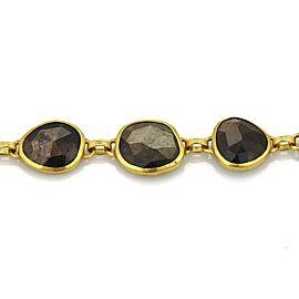 Gurhan 68 24K Yellow Gold Sapphire Bracelet