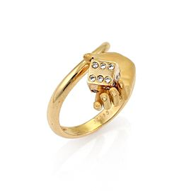 Carrera Y Carrera 18K Yellow Gold Diamond Ring