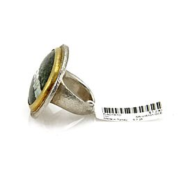 Gurhan 24K Rose Gold, 24K Yellow Gold, Sterling Silver Ring