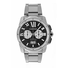Cartier Calibre W7100061 42mm Mens Watch
