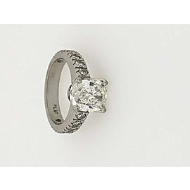Platinum Diamond Ring Size 5