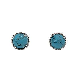 David Yurman Chatelaine Earrings With Turquoise