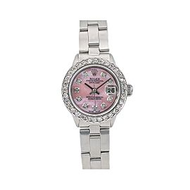 Rolex Oyster Perpetual Date 6519 26mm Womens Watch