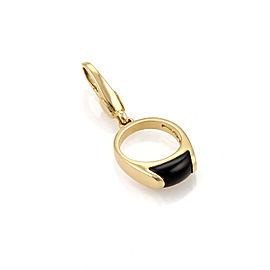Bvlgari 18K Yellow Gold Onyx Ring