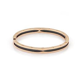 Bvlgari 18K Rose Gold Ceramic Bracelet