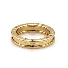 Bvlgari 18K Yellow Gold Ring Size 5.75