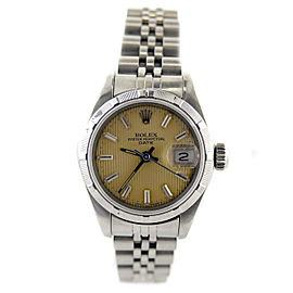 Rolex Oyster Perpetual Date 69190 Vintage 26mm Womens Watch