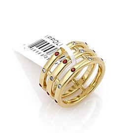 Ippolita Glamazon Triple Band Ring Ring