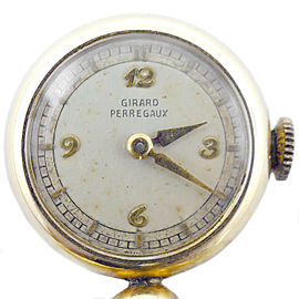 Girard Perregaux Vintage 19mm Womens Pocket Watch Pendant / Pin