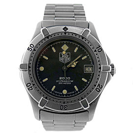 Tag Heuer 2000 Series 962.013 33mm Unisex Watch