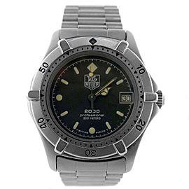 Tag Heuer 2000 Series 962.013 33mm Unisex Watch