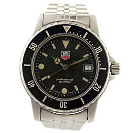 Tag Heuer Professional WD210-G-20 36mm Mens Watch