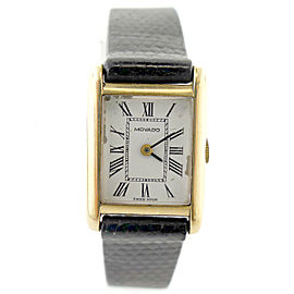 Movado 14K Yellow Gold 18mm Womens Watch
