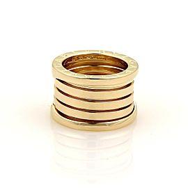 Bulgari 18K Yellow Gold Ring Size 5.25
