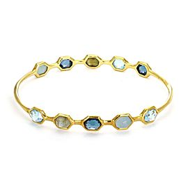 Ippolita 18K Yellow Gold Topaz, Iolite Bracelet