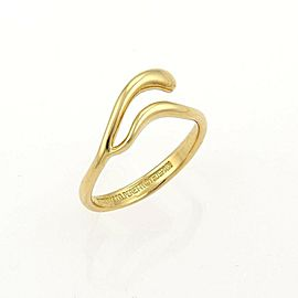 Tiffany & Co. 18K Yellow Gold Ring Size 5
