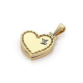 Louis Vuitton 18K Yellow Gold Pendant