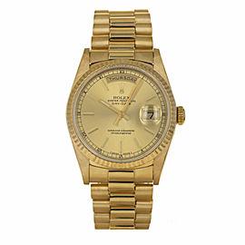 Rolex Day Date President 18238 36mm Mens Watch