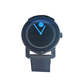 Mens Movado Bold Watch Blue