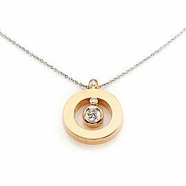 Roberto Coin Cento Diamond 18k Two Tone Gold Round Pendant