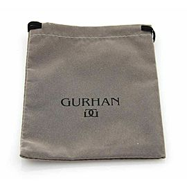 Gurhan LUSH HUES Pink Tourmaline Sterling Disc Triple Strand Dangle Earrings