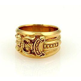 Chrome Hearts 22k Gold Dagger Ring Rare!