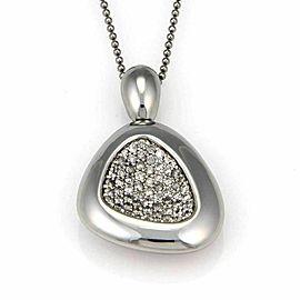 Roberto Coin Capri Plus Sterling Silver 1.85ct Diamond Necklace Rt. $2,850