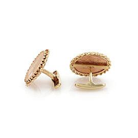 Vintage 22k Rose Gold Liberty & Indian head Coin 14k Gold Stud Cufflinks