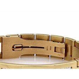 Men's 7.00ct Diamond 14k Yellow Gold Long Bar Jubilee Link Bracelet
