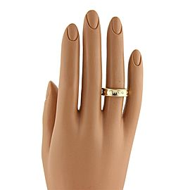 57441 Tiffany & Co. 1837 Collection 18k Yellow Gold 6mm Band Ring Size 6.5