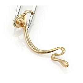 Tiffany & Co. Peretti 18k Yellow Gold Long Snake Drop Dangle Earrings