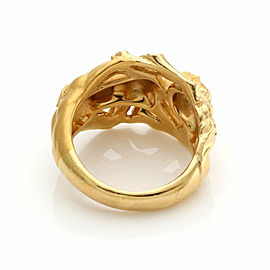 Carrera y Carrera Erotic Couple 18k Yellow Gold Ring