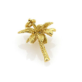Tiffany & Co. 18k Yellow Gold Palm Tree Charm Pendant