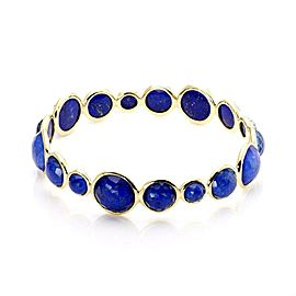 Ippolita Rock Candy Gelato Lapis Gems 18k Yellow Gold Bangle