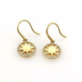 Tiffany & Co. Picasso Diamonds Venezia Stella 18k Gold Star Dangle Earring